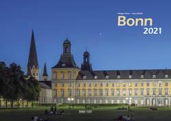Bonn 2021 Bildkalender A3 quer, spiralgebunden von Klaes,  Holger