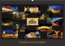 BONNER NACHTFARBEN (Wandkalender 2018 DIN A2 quer) von Bonn,  BRASCHI