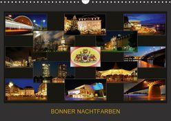 BONNER NACHTFARBEN (Wandkalender 2018 DIN A3 quer) von Bonn,  BRASCHI