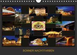 BONNER NACHTFARBEN (Wandkalender 2018 DIN A4 quer) von Bonn,  BRASCHI