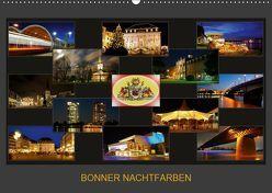 BONNER NACHTFARBEN (Wandkalender 2019 DIN A2 quer) von Bonn,  BRASCHI