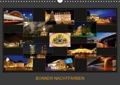 BONNER NACHTFARBEN (Wandkalender 2019 DIN A3 quer) von Bonn,  BRASCHI