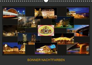 BONNER NACHTFARBEN (Wandkalender 2021 DIN A3 quer) von Bonn,  BRASCHI