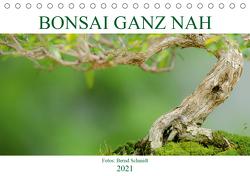 Bonsai ganz nah (Tischkalender 2021 DIN A5 quer) von Schmidt,  Bernd