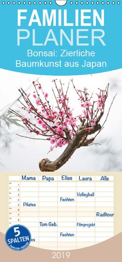 Bonsai: Zierliche Baumkunst aus Japan – Familienplaner hoch (Wandkalender 2019 , 21 cm x 45 cm, hoch) von CALVENDO