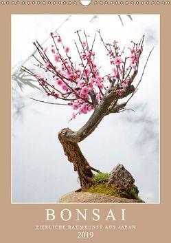 Bonsai: Zierliche Baumkunst aus Japan (Wandkalender 2019 DIN A3 hoch) von CALVENDO,  k.A.