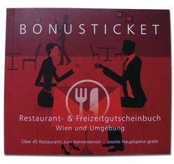 Bonusticket Restaurantgutscheinbuch von Mag. Eichhübl,  Silvia