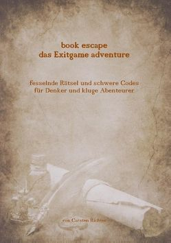 Book escape – das Exitgame adventure von Richter,  Carsten