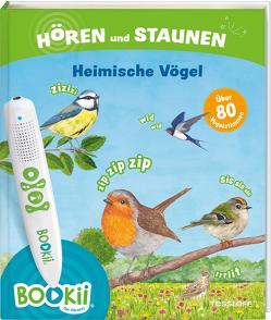 BOOKii® Hören und Staunen Heimische Vögel von Brandstetter,  Johann, Oftring,  Bärbel, Tessloff Verlag