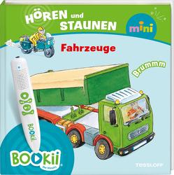 BOOKii® Hören und Staunen Mini Fahrzeuge von Hennig,  Dirk, Himmler,  Vernessa, Humbach,  Markus, Krause,  Joachim, Voigt,  Silke, Wenzel,  Ida