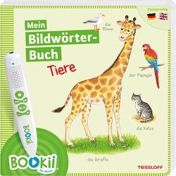 BOOKii®. Mein Bildwörterbuch. Tiere von Teltau,  Irmtraut, Tessloff Verlag