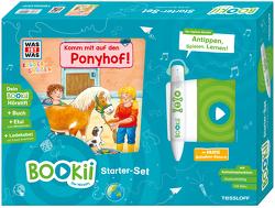 BOOKii® Starter-Set. WAS IST WAS Kindergarten. Komm mit auf den Ponyhof! von Döring,  Hans Günther, Noa,  Sandra, Steinstraat,  Johann, Tessloff Verlag
