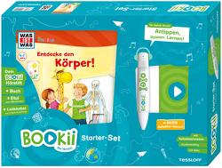 BOOKii Starterset WAS IST WAS Junior Entdecke den Körper! Buch + Hörstift von Kaiser,  Claudia, Lickleder,  Martin, Noa,  Sandra, Voigt,  Silke