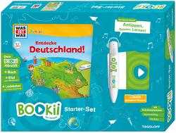 BOOKii Starterset WAS IST WAS Junior Entdecke Deutschland! Buch + Hörstift von Hennig,  Dirk, Kaiser,  Claudia, Lickleder,  Martin, Oftring,  Bärbel