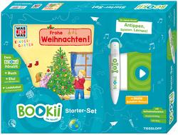 BOOKii Starterset WAS IST WAS Kindergarten Frohe Weihnachten! Buch + Hörstift von Schreuder,  Benjamin, Vohwinkel,  Astrid, Weller-Essers,  Andrea