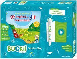 BOOKii Starterset Wie heißt das denn auf Englisch und Französisch? Buch + Hörstift von Dilg,  Sonja, Stiefenhofer,  Martin