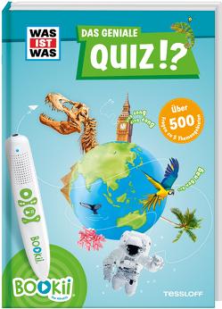 BOOKii® WAS IST WAS Das geniale Quiz!? von Langbein,  Carolin, Tessloff Verlag