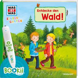 BOOKii® WAS IST WAS Kindergarten Entdecke den Wald von Steinstraat,  Johann, Vogel,  Heike, Weller-Essers,  Andrea