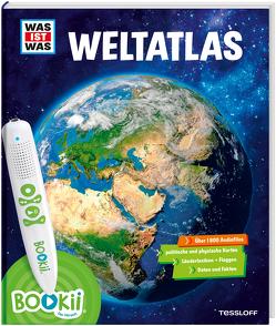 BOOKii WAS IST WAS Weltatlas von Baur,  Manfred