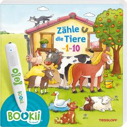 BOOKii® Zähle die Tiere von 1 bis 10 von Görtler,  Carolin, Tessloff Verlag