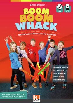 Boom Boom Whack, Heft inkl. Audio-CD + App von Rinderer,  Elmar