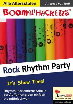 Boomwhackers – Rock Rhythm Party von Hoff,  Andreas von