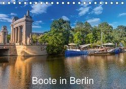 Boote in Berlin (Tischkalender 2018 DIN A5 quer) von Fotografie,  ReDi