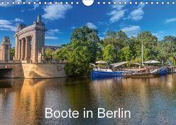 Boote in Berlin (Wandkalender 2018 DIN A4 quer) von Fotografie,  ReDi