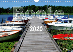Boote (Wandkalender 2020 DIN A4 quer) von tinadefortunata