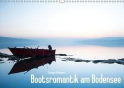 Bootsromantik am Bodensee (Wandkalender 2018 DIN A3 quer) von Di Domenico,  Giuseppe