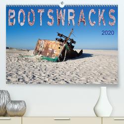 Bootswracks (Premium, hochwertiger DIN A2 Wandkalender 2020, Kunstdruck in Hochglanz) von Gimpel,  Frauke