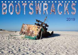 Bootswracks (Tischkalender 2019 DIN A5 quer) von Gimpel,  Frauke