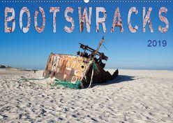 Bootswracks (Wandkalender 2019 DIN A2 quer) von Gimpel,  Frauke