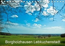 Borgholzhausen Lebkuchenstadt (Tischkalender 2018 DIN A5 quer) von J. Sülzner [[NJS-Photographie]],  Norbert