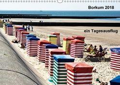 Borkum – Bilder eines Tagesausflugs (Wandkalender 2018 DIN A3 quer) von J. Sülzner [[NJS-Photographie]],  Norbert