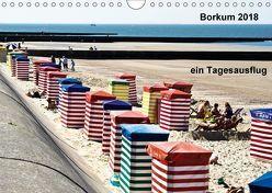 Borkum – Bilder eines Tagesausflugs (Wandkalender 2018 DIN A4 quer) von J. Sülzner [[NJS-Photographie]],  Norbert