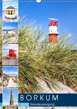 Borkum Strandspaziergang (Wandkalender 2019 DIN A3 hoch) von Dreegmeyer,  Andrea