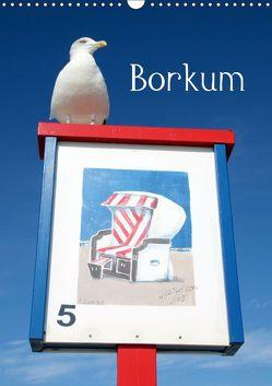 Borkum (Wandkalender 2019 DIN A3 hoch) von Raab,  Karsten-Thilo