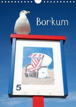 Borkum (Wandkalender 2019 DIN A4 hoch) von Raab,  Karsten-Thilo