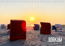 Borkum – Wo die Zeit still steht. (Tischkalender 2020 DIN A5 quer) von Georgiev-Bröhl,  Sina