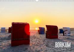 Borkum – Wo die Zeit still steht. (Wandkalender 2021 DIN A3 quer) von Georgiev-Bröhl,  Sina