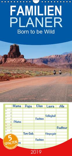 Born to be Wild – Mit der Harley durch den Südwesten der USA – Familienplaner hoch (Wandkalender 2019 , 21 cm x 45 cm, hoch) von Kärcher,  Mike