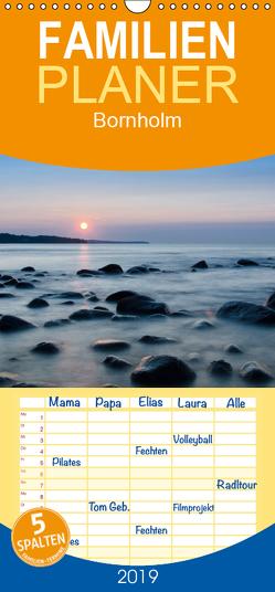 Bornholm – Familienplaner hoch (Wandkalender 2019 , 21 cm x 45 cm, hoch) von strandmann@online.de