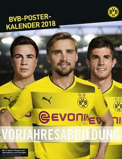 Borussia Dortmund Posterkalender – Kalender 2019 von Heye