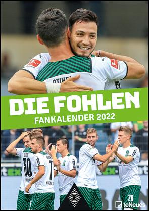 Borussia Mönchengladbach 2022 – Fußballkalender – Sportkalender – Wandkalender – Fankalender – 29,7×42