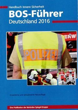 BOS-Führer Deutschland 2016 von Lehmann,  Gerd, Proll,  R. Uwe
