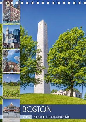 BOSTON Historie und urbane Idylle (Tischkalender 2018 DIN A5 hoch) von Viola,  Melanie