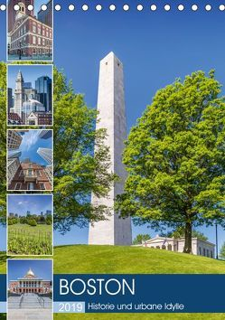BOSTON Historie und urbane Idylle (Tischkalender 2019 DIN A5 hoch) von Viola,  Melanie