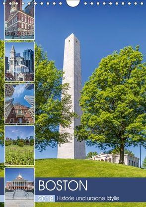 BOSTON Historie und urbane Idylle (Wandkalender 2018 DIN A4 hoch) von Viola,  Melanie