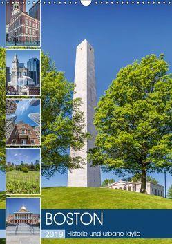 BOSTON Historie und urbane Idylle (Wandkalender 2019 DIN A3 hoch) von Viola,  Melanie